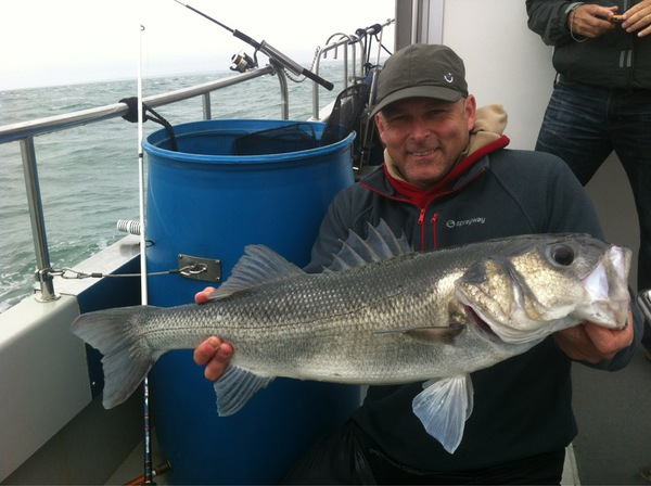 Chichester harbour lure fishing for bass 2013 lure for Best bass fishing near me
